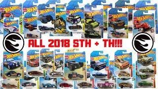Hot Wheels 2018 Super Treasure Hunt + Treasure Hunt List!!!