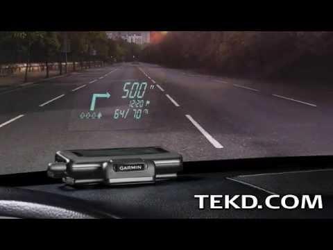 Garmin HUD Navigation System Keeps Eyes on the Road