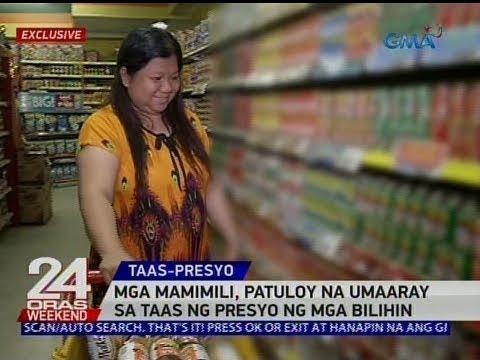 24 Oras: Mga mamimili, patuloy na umaaray sa taas ng presyo ng mga bilihin