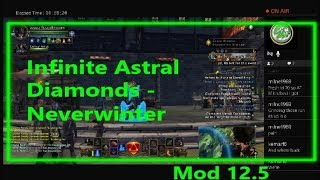 Infinite Astral Diamonds & Gold Loop - Neverwinter Mod 12.5