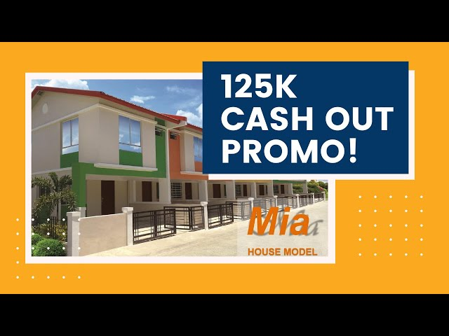 125K Cash Out | Lipat Agad in 3-6 Months | Mia at Elliston Place