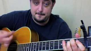 George Harrison My Sweet Lord - Acoustic Guitar Lesson tutorial