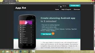 How to create Android App For Blogger Blog
