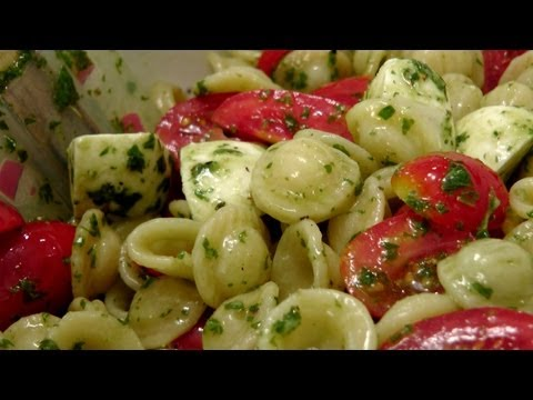 Caprese Pasta Salad Recipe by Laura Vitale Laura in the Kitchen Episode 160