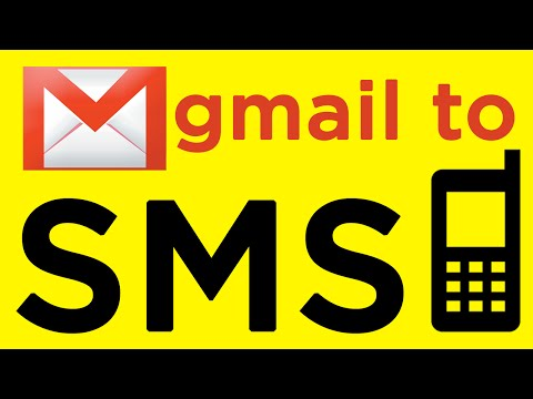 How To Receive Free SMS Text Alerts For New Emails
