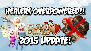 Clash of Clans (CoC) NEW UPDATE - HEALERS OVERPOWERED?! Sneak Peek #1