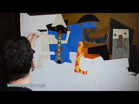Picasso - Three Musicians | Art Reproduction Oil Painting