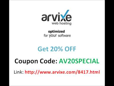 Arvixe Hosting Coupon August 2014