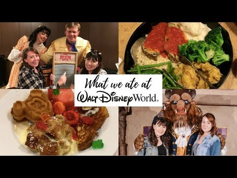 What we ate at Walt Disney World - Vegetarian Table Service Restaurants