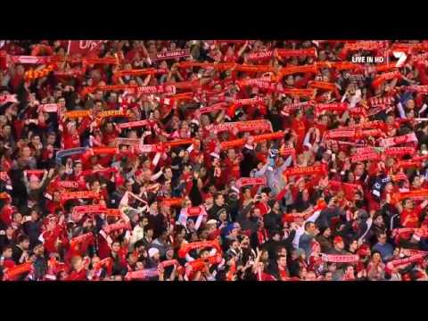 Liverpool FC You'll Never Walk Alone song Aussie fans ynwa! Australia