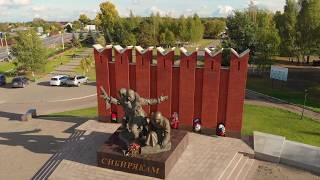 Россия, Подмосковье, Военно-Исторический Танковый музей с квадрокоптера
