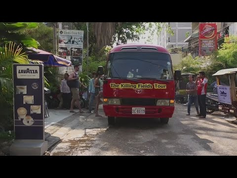 Cambodia's Killing Fields gets tour bus