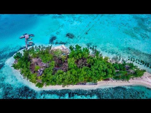 Pesona Pulau Semak Daun kepulauan seribu Indonesia Video Udara 2015
