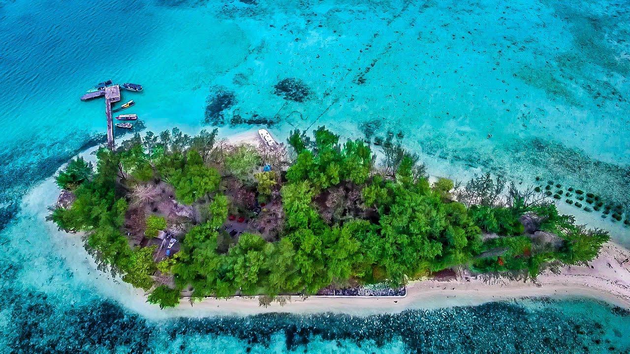 Pesona Pulau Semak Daun kepulauan seribu Indonesia Video