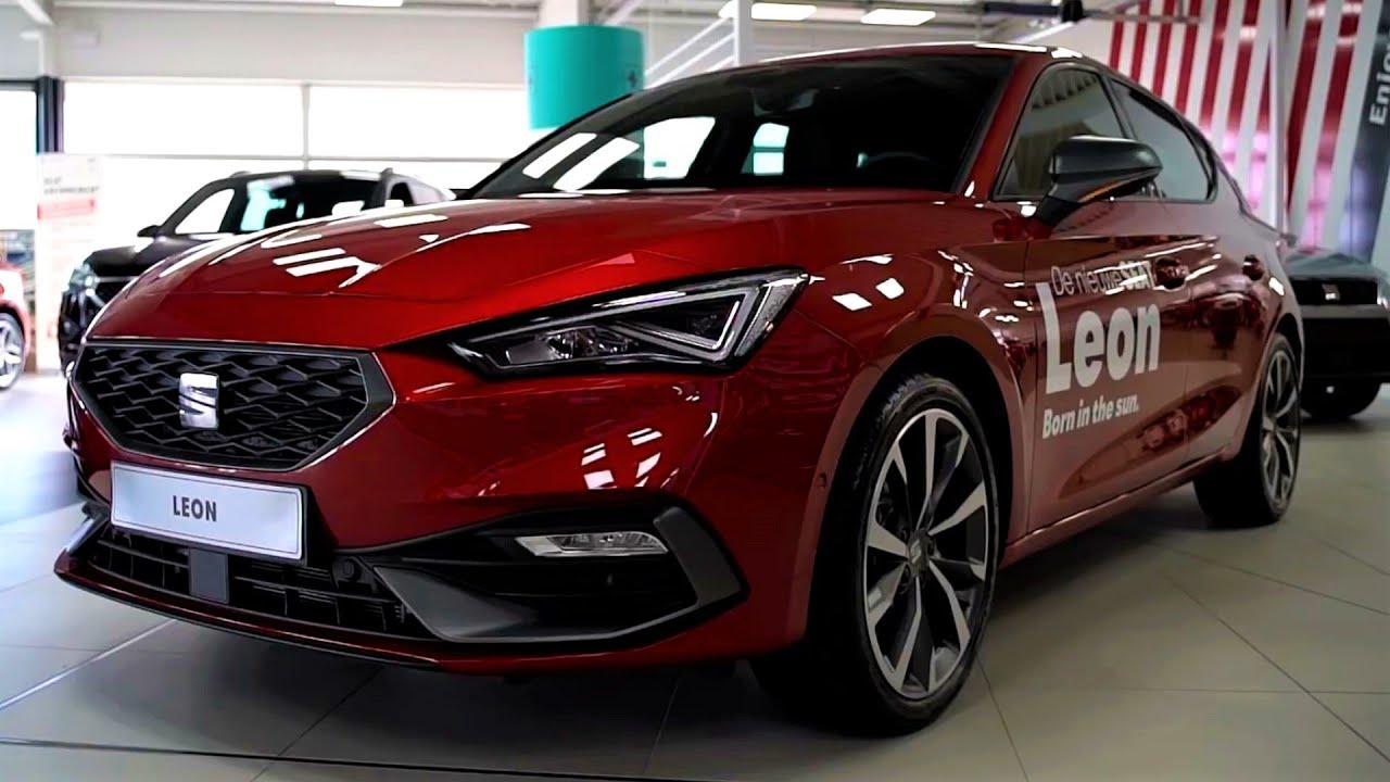 NEW - 2021 Seat Leon - FR 1.5 TSI Sport 150hp - INTERIOR ...