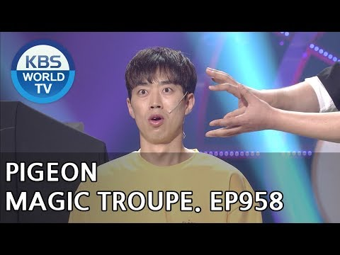 Pigeon Magic Troupe | 비둘기 마술단 [Gag Concert / 2018.07.28]