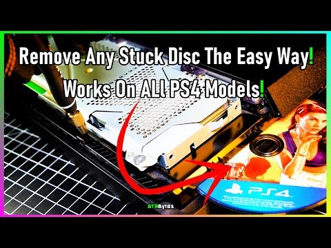 How To Remove Stuck Disc From Any PS4 | Easy Tutorial!