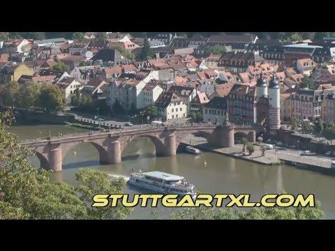 Heidelberg: Philosopher's Way / Philosopher's Walk in Heidelberg, Germany