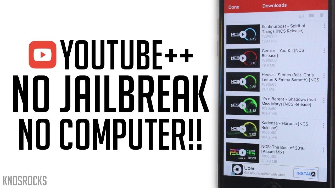 How to download & install youtube++ | ios 9/ios 10 2/ios 10 3 beta