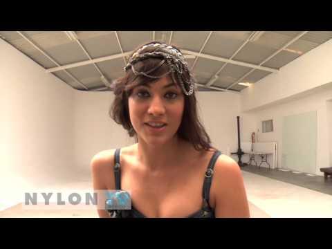 Sesión fotográfica de Diana García para Nylon TV