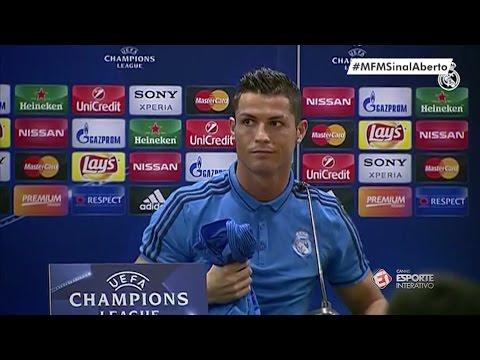 Cristiano Ronaldo se irrita, deixa a coletiva e Zidane dá risada! thumbnail