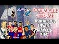 💥FOOTBALLERS ATTEMPT: Ronaldo's Bicycle Kick💥 (Juventus vs Real Madrid 0-3 2018 Goals)