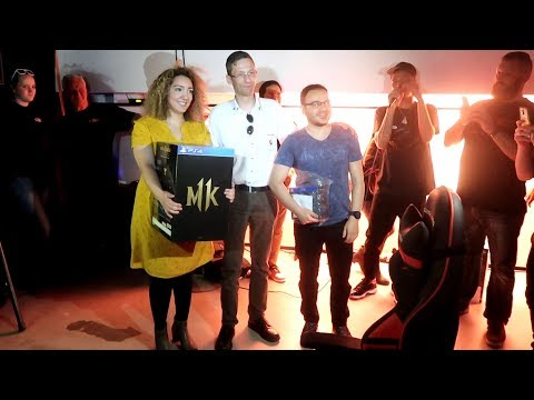 Mortal Kombat 11 Launch Event Vlog in Rotterdam