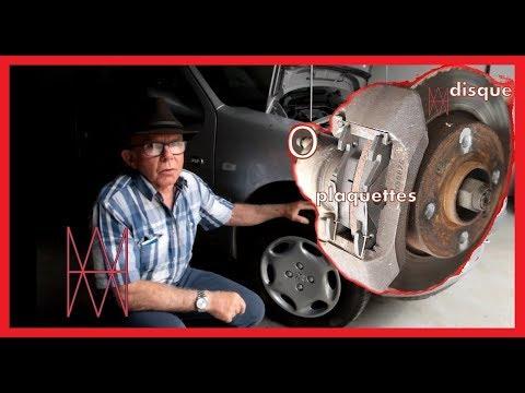 Peugeot 106. Comment Changer Les Plaquettes De Freins Avant.