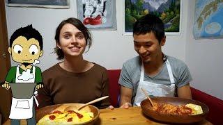 How to make Japanese Omurice (cost: 210yen, 15 min)