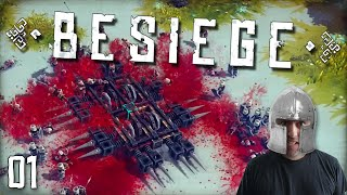 "BESIEGE Gameplay Part 1 - ""DESTRUCTION DISORDER AND CHAOS!!!"" 1080p PC Gameplay Walkthrough"