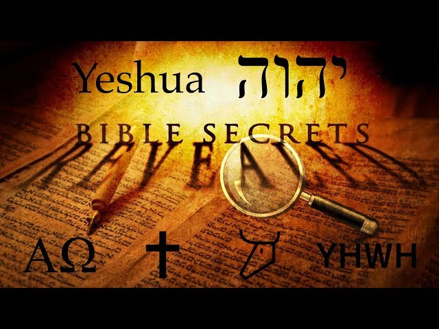 REVEALED! Amazing Hidden Hebrew Code In the Name of YHWH & Jesus