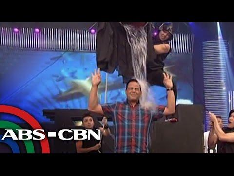 Direk Bobet Vidanes accepted the ALS Ice Bucket Challenge