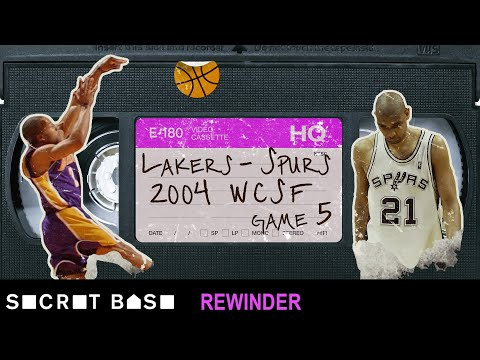 Derek Fisher's 0.4-second playoff buzzer-beater deserves a deep rewind | 2004 Lakers-Spurs Game 5