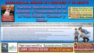 Invitación al Taller Heridas Emocionales de la Infancia: Conocer y Sanar, Ps Octavio Escobar