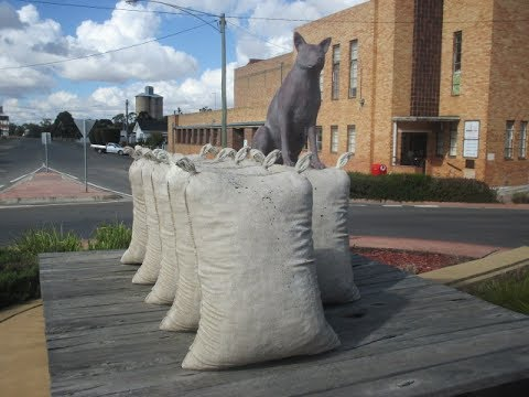 Federation Place Sculpture (Warracknabeal)