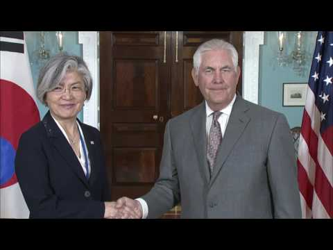 Secretary Tillerson Meets With Korean Foreign Minister Kang Kyung-wha