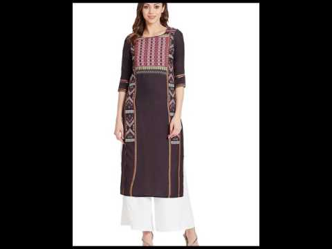 W Woman Kurta Kurti In India Ethnic Clothing