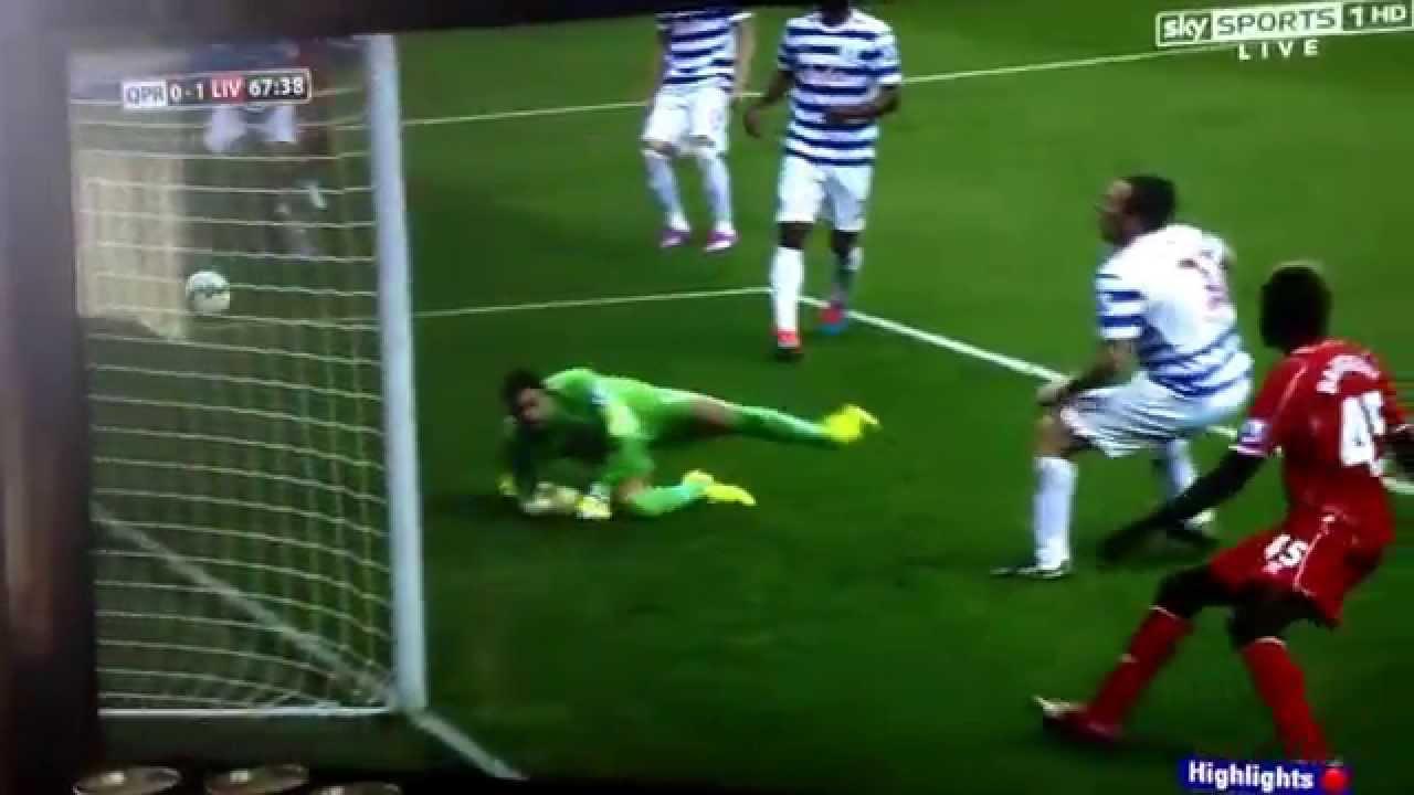 Liverpool VS QPR 19 10 14 All Goals 3-2