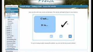Online French Courses: REVIEW - BBC online French Steps course - FREE