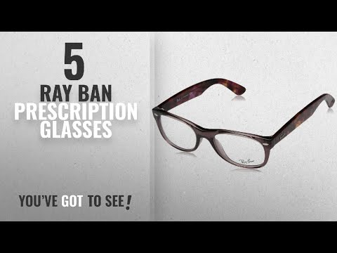 Top 10 Ray Ban Prescription Glasses [ Winter 2018 ]: Ray-Ban RX5184 New Wayfarer Eyeglasses Opal