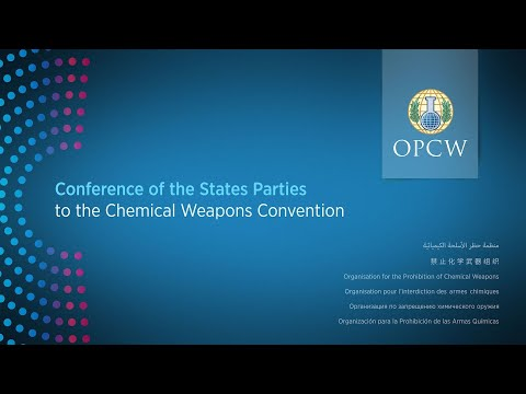 OPCW CSP-24 – Day 5 – Morning – The Twenty-Fourth Session of the Conference of the States Parties