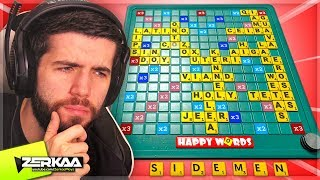 We Played A New Online Multiplayer SCRABBLE! (Happy Words)