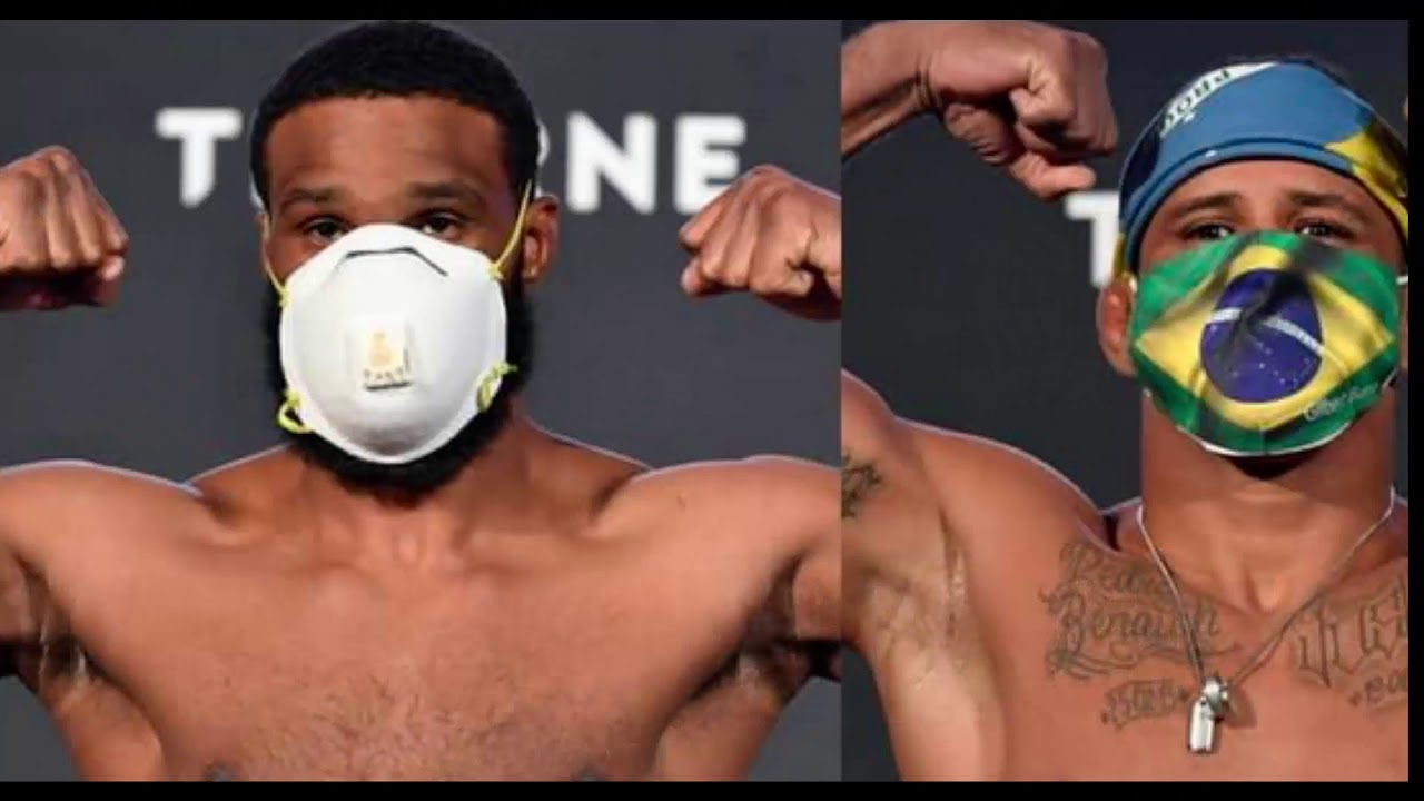 UFC Vegas live blog: Tyron Woodley vs. Gilbert Burns updates ...