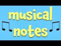 Gambar cover Musical Notes!  Learning about for Kids