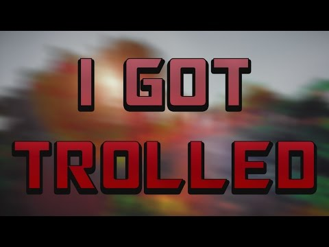I GOT TROLLED - Minecraft HS