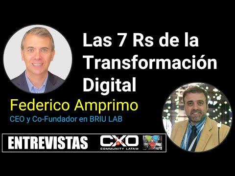 🎙️ Entrevista a Federico Amprimo 💪 Las 7 Rs de la Transformación Digital en esta Normalidad 🚀