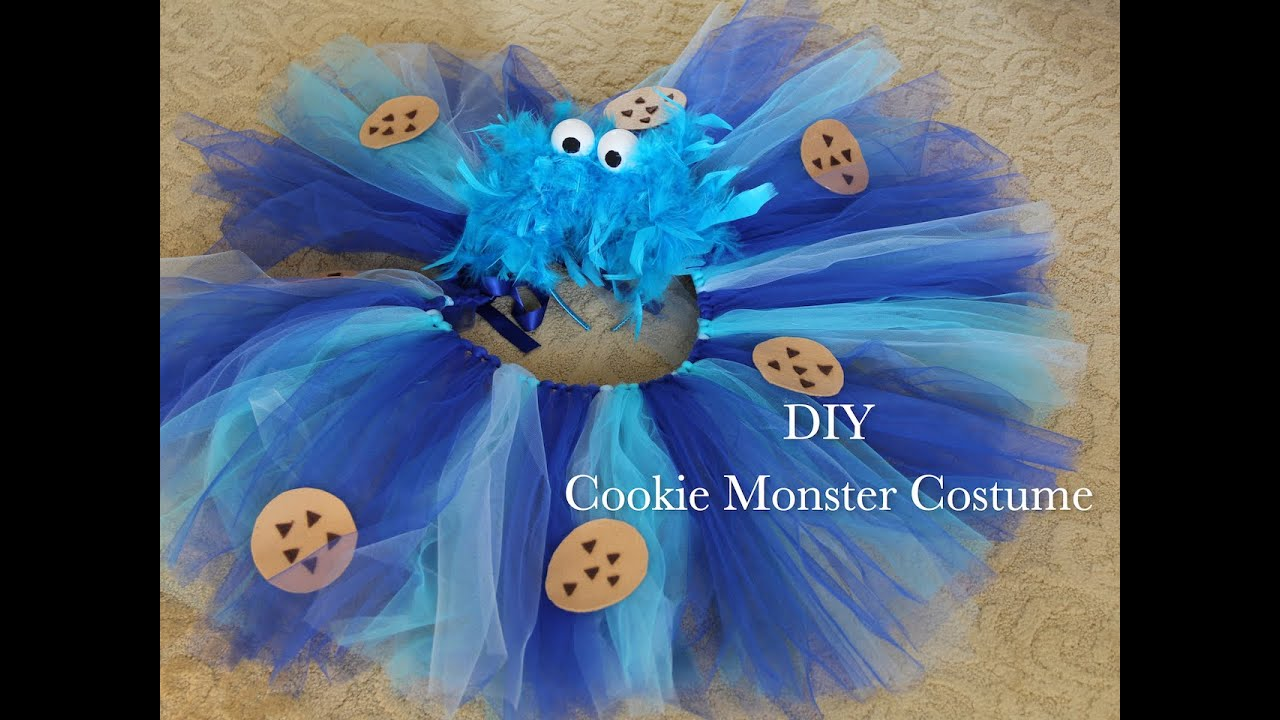 Cookie monster costume youtube cookie monster costume solutioingenieria Choice Image