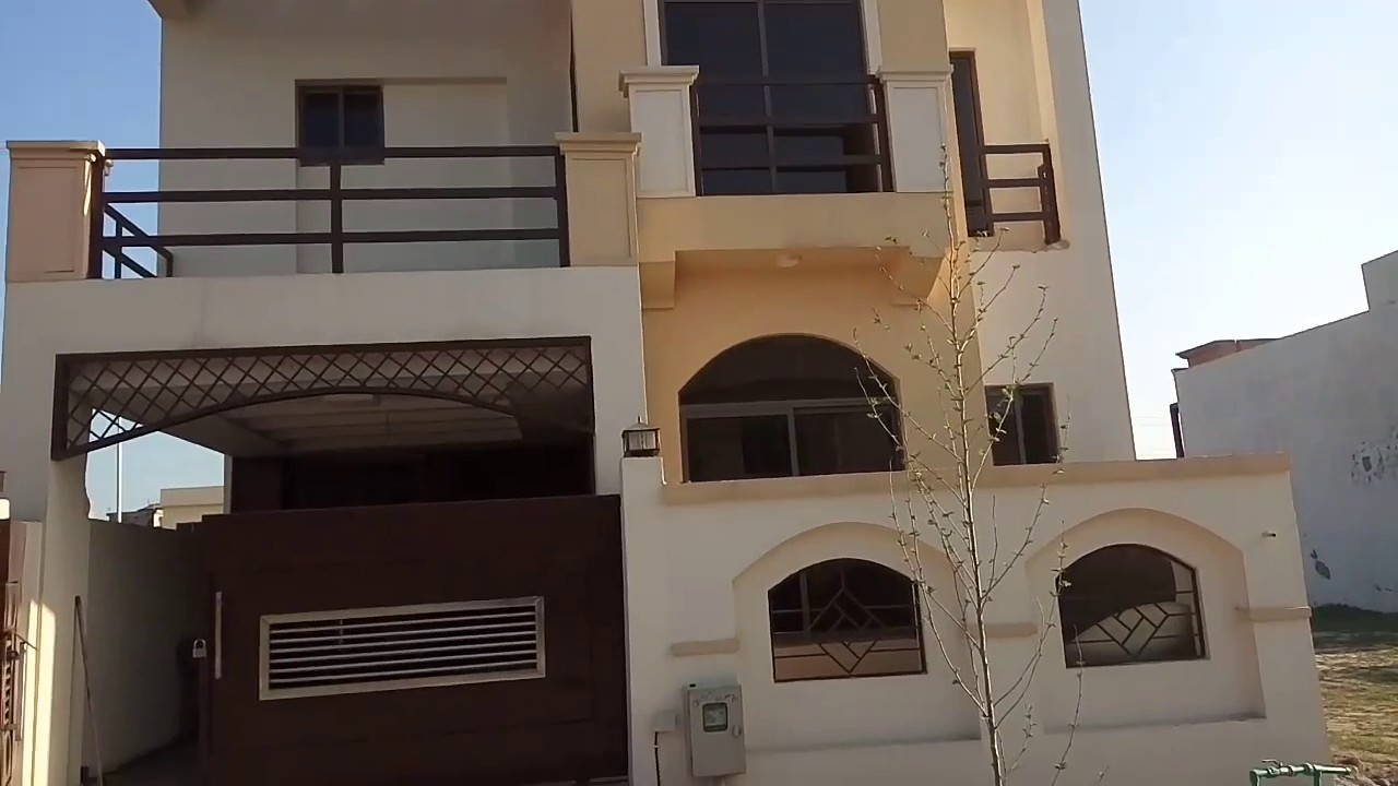 5 Marla House For Sale In Bahria Town Phase 8 (Contact For Details :  0092-312-5524000)