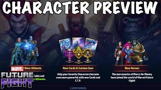 NEW CHARACTERS & UNIFORMS OVERVIEW 👉 UPDATE 5.6 EARLY ACCESS | Marvel Future Fight