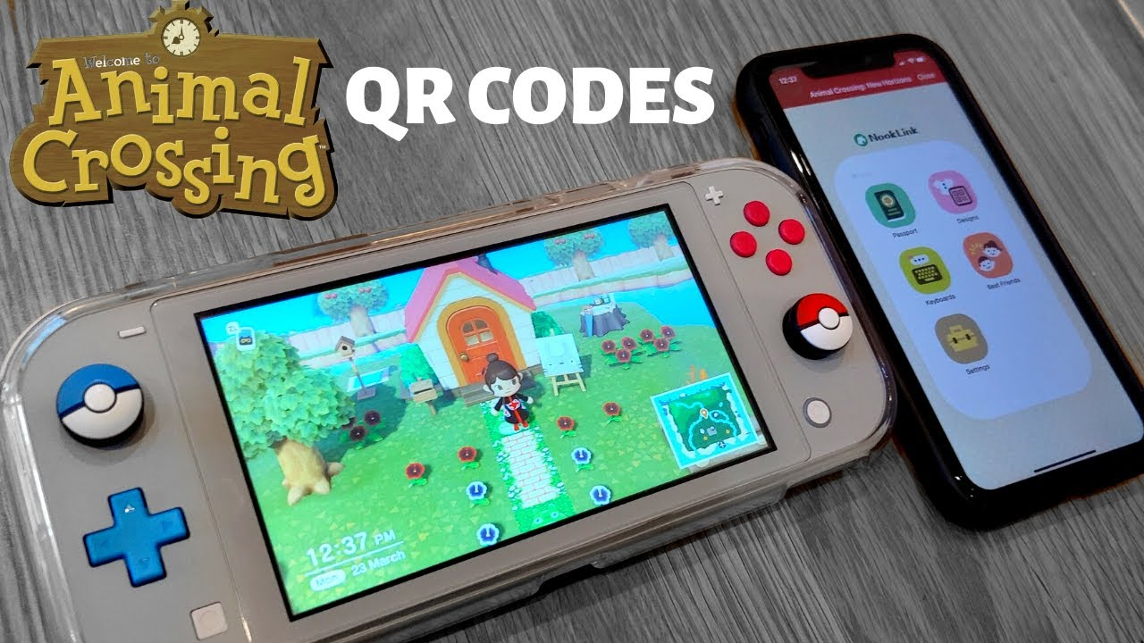 How To Use Qr Codes Animal Crossing New Horizons Youtube